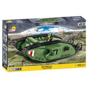 Cobi Jeux de construction - Tank Mark I