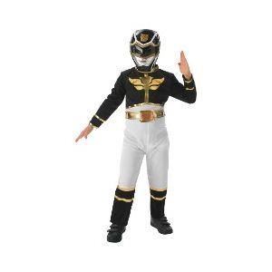 Rubie's Déguisement Power Ranger Megaforce noir (3-4 ans)