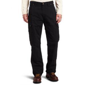 Carhartt Ripstop Cargo Work Jeans/Pantalons Noir 32