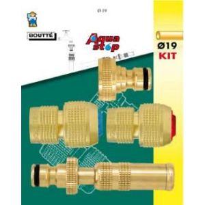 Boutté 0802906 - Kit d'arrosage 4 pièces pour tuyau Ø19