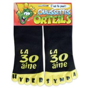 Chaussettes orteils la 30aine