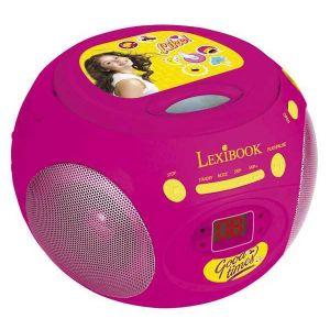 Lexibook RCD102SL - Radio lecteur CD Soy Luna Disney