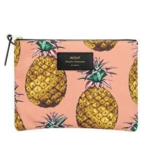 Woouf Pochette Ananas Large 21,5 x 16,5 x 2 cm WOUF