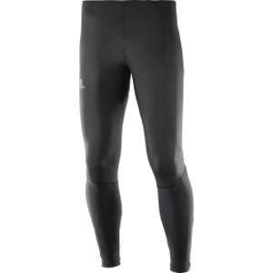 Salomon Homme Collant de Course, Agile Tight, Jersey, Noir, Taille M, L40117400