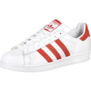 Adidas Superstar, Chaussures de Gymnastique Homme, Blanc Active Red/FTWR White, 38 EU