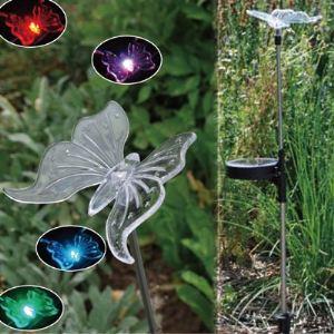 Galix 1305 - Papillon décoratif lumineux solaire