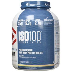Dymatize nutrition Dymatize Iso100 Hydrolyzed 100% Whey Protein Isolate 2200g Gourmet Vanilla