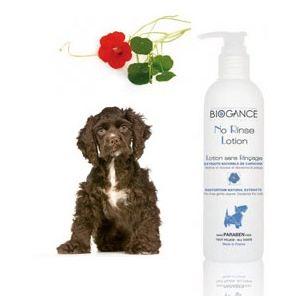 Biogance No Rinse Lotion - Lotion sans rinçage pour chien