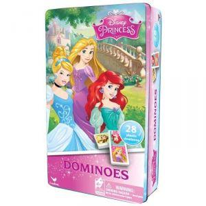 Spin Master Boîte métal dominos Disney Princesses