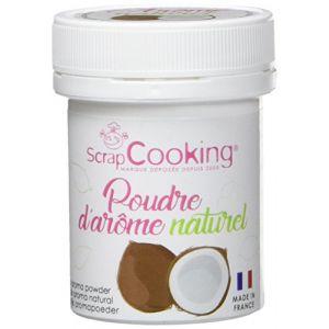 Scrapcooking Pot de poudre d'arôme naturel 15g - noix de coco