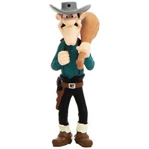 Plastoy Figurine Averell Dalton et le jambon (Lucky Luke)