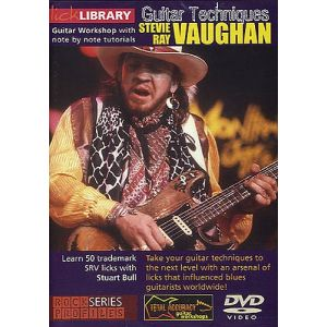 Music Sales Roadrock International Lick Library - Stevie Ray Vaughan Guitar Techniques [dvd] -...