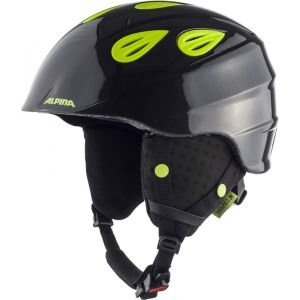 Alpina Casques Grap 2.0 Junior - Charcoal / Neon Yellow - Taille L