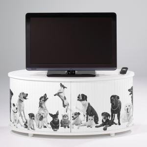 Docteurdiscount Meuble TV Print imprimé animaux