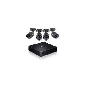 TrendNet TV-DVR104K - Kit de surveillance DvR CCTV HD à 4 canaux avec 4 caméras incluses