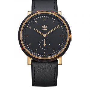 Adidas AL3 District - Montre à bracelet en cuir - Noir