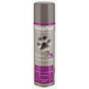 Beaphar Spray shampooing sec sans rinçage pour chien et chat