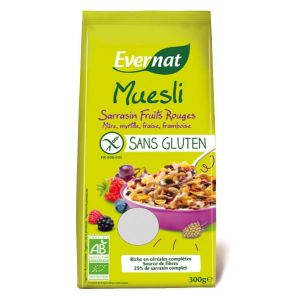 Evernat Muesli Bui sarrasin & fruits rouges sans gluten (300g)