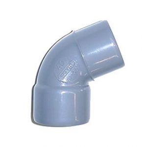 Wavin Coude Mâle / Femelle PVC - 45° - Diamètre 63 mm