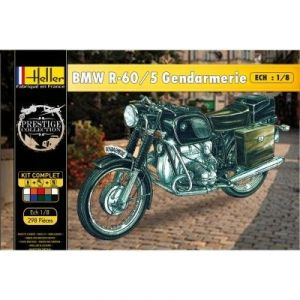 Heller Maquette Moto BMW R-60/5 Gendarmerie