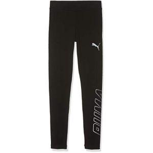 Puma Alpha Leggings G Pantalon De Sport Fille, Cotton Black, 164