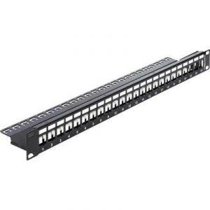"""Delock 43277 - Panneau de brassage réseau non équipé 19"""" 24 ports"""