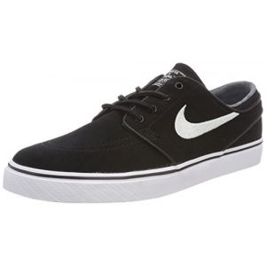 Nike Zoom Stefan Janoski OG, Chaussures de Skate Homme, Noir (Black/White-Gum Light Brown 012), 44.5 EU