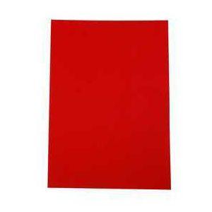 Creotime Papier cartonné A4 Rouge cerise - 180 gr - 20 pcs