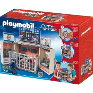 Image de Playmobil 5421 City Action - Poste de police