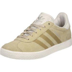 Adidas Gazelle Fashion, Sneakers Basses Mixte Enfant, Marron (Linen Khaki/Clear Brown/Chalk White), 38 EU