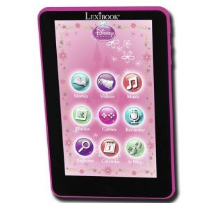 "Lexibook Kids Tablet Disney Princess 2 Go - Tablette tactile multimédia 7"" 2 Go (KP500DPi1 )"