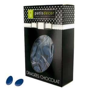 Patisdécor Dragées chocolat bleu marine 500 g