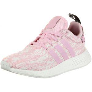 Adidas NMD_R2, Baskets Femmes, Rose (Wonder Pink/Wonder Pink/Core Black), 37 1/3 EU