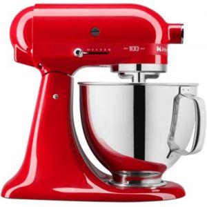 Kitchen Aid Robot pâtissier 5KSM180HESD Rouge passion 100 ans