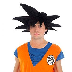 Chaks Generique - Perruque Noire Goku Saiyan Dragon Ball Z Adulte