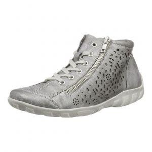 Remonte R3463, Sneakers Hautes Femme, Gris