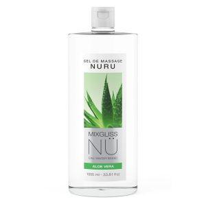 Mixgliss Gel de Massage Nuru NÜ 1L Aloe Vera