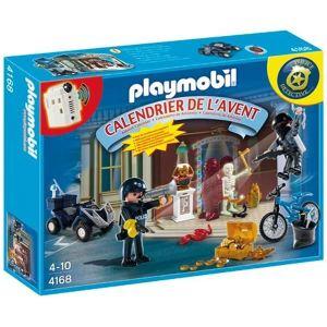 Playmobil 4168 - Calendrier de l'avent : Policiers et voleurs d'antiquités avec surprises