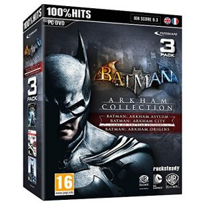 Batman Arkham City + Batman Arkham Asylum + Batman Arkham Origins [PC]