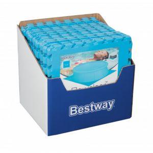 Bestway 9 Tapis de protection pré formés 50 x 50 cm