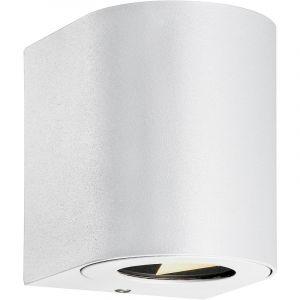 Nordlux Applique murale extérieure Canto 2 Blanc LED IP44 500lm 2700K