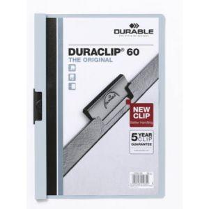 Durable 2209-06 - Chemise à clip DURACLIP Original 60, bleu clair, A4