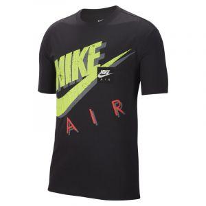 Nike Tee-shirt imprimé Sportswear pour Homme - Noir - Taille XS - Male