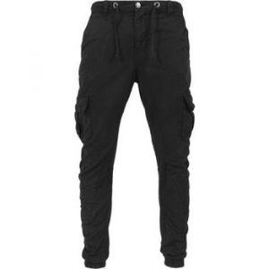 Urban classics Pantalon Pantalon cargo bas resserré Noir - Taille EU XXL,EU S,EU M,EU L,EU XL,EU 3XL,EU 4XL,EU 5XL