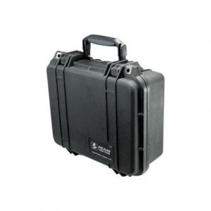 Peli 1400 BKF flight case noir + mousse 300x225x132 mm