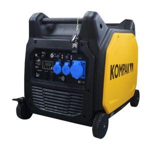 Kompak Groupe électrogène essence inverter insonorisé 6.5kw compatible ATS KGG65EI