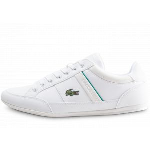 Lacoste Chaussures Chaymon 219 heVerte Blanc - Taille 40,41,42,43,44,45,46
