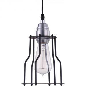 Edison Light Globes Cage - Lampe pendante aluminium