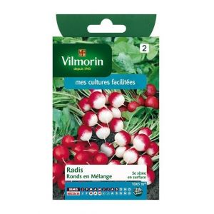 Vilmorin Radis ronds en mélange - Sachet graines