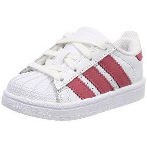 Adidas Superstar I, Chaussures de Fitness Mixte Enfant, Blanc (Ftwbla/Ftwbla/Negbás 000), 27 EU